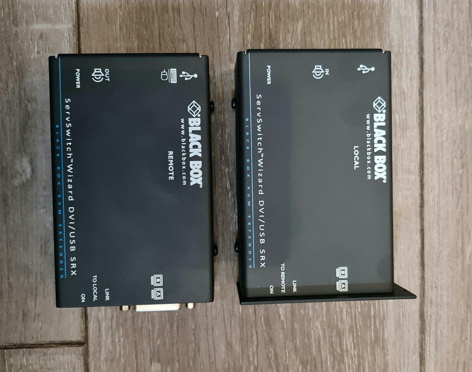 BLACK BOX ACU5502A-R3 DVI-D DUAL HEAD USB KVM EXTENDER
