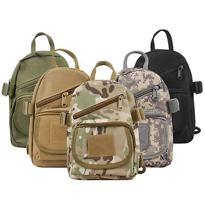 Men/'s Chest Sling Packs Shoulder Cross Body Bag Cycle Day Packs Satchel Backpack