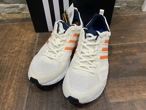 Details about Adidas Adizero Tempo 9 BB6433 White Grey Running Shoes Men's Size 9