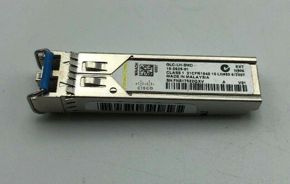 Transceiver Module LX//LH SFP 10-2625-01-1 Year mini-GBIC Cisco GLC-LH-SMD