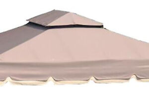 Replacement-Roof-Canopy-for-Gazebo-with-Smaller-roof-on-top-10x10