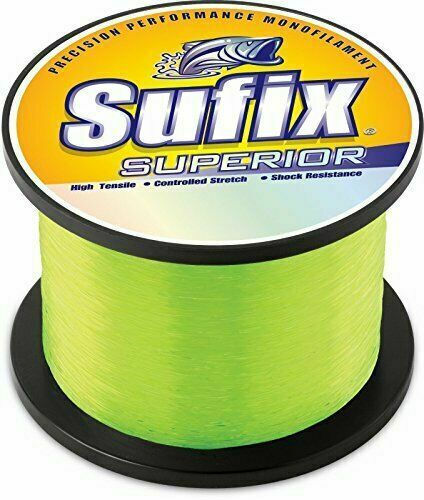Sufix Superior Monofilament 1//4 lb spool Fishing Line-Pick  Color /& Line Class