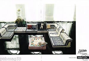 publicit advertising 2010 2 pages canap roche bobois