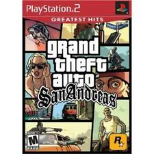 PlayStation2 Grand Theft Auto San Andreas Greatest Hits VideoGames
