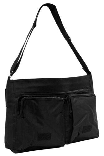 AM-1SB Chimpanzee Large Black Laptop Shoulder Bag School//College
