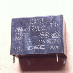 DEC-DX1U-12V-DC-DX1U-12VDC-Relay-module-New