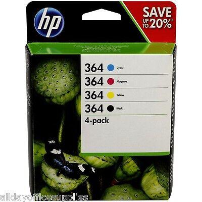 Original 4 Colour HP 364 Ink Cartridge Multipack For 3070A N9J73AE