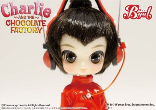 Groove Docolla Pullip Doll Charlie And The Chocolate Factory Oompa-Loompa DB-370