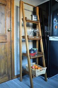 Bookcases Shelving amp Storage Double Ladder Assembled Shelve Handmade Vintage - Dewsbury, West Yorkshire, United Kingdom - Bookcases Shelving amp Storage Double Ladder Assembled Shelve Handmade Vintage - Dewsbury, West Yorkshire, United Kingdom