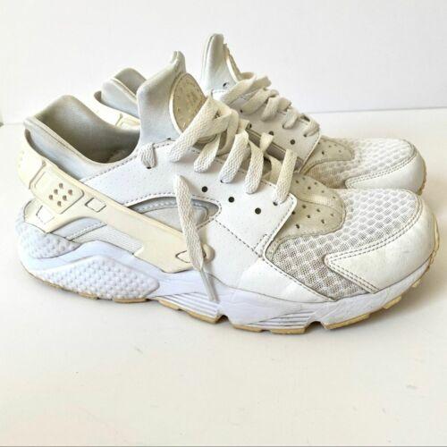 Nike Air Hurache Triple Running White Sneakers 9