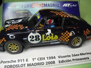 Fly Car Mod 99116 Porsche 911 S 1º Coupe Espagne Historique 94 Foroslot Madrid