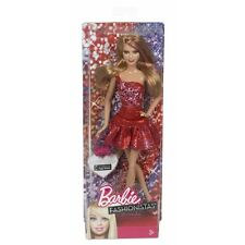 Barbie Fashionista Doll - Red Dress - Dolls Action Figure Kids Children Girls