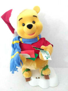Telco-Motionette-Disney-Winnie-the-Pooh-Skiing-Animated-Christmas-16-034-Motion