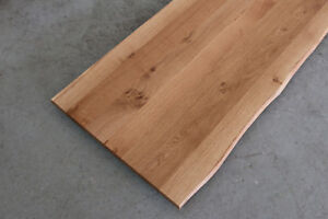Das Bild Wird Geladen Tischplatte Platte Eiche Massiv Holz NEU Tisch Brett