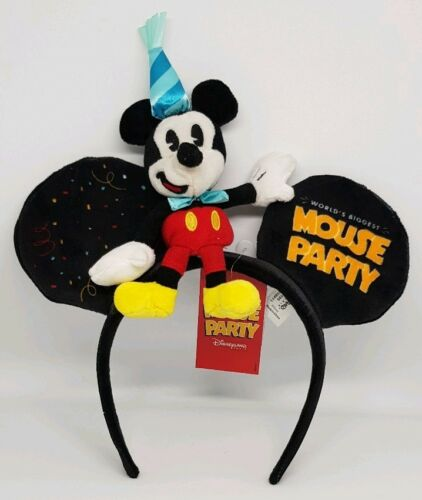 Disney Disneyland Paris Worlds Biggest Mouse Party Mickey Mouse Ears 90th Minnie