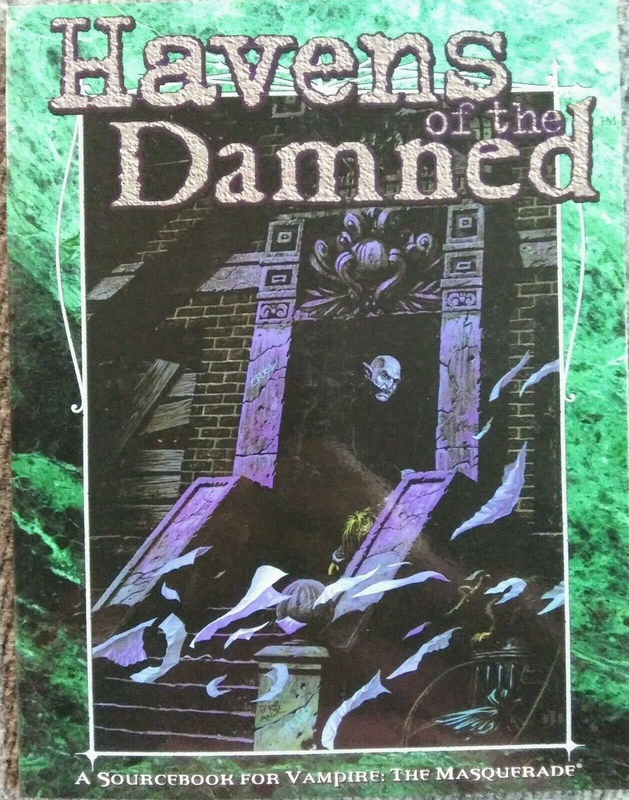 Vampire the Masquerade Havens of the Damned SC New New New RPG White Wolf 9c687f
