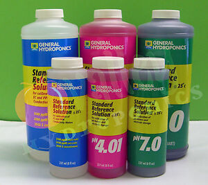 General-Hydroponics-CALIBRATION-SOLUTION-8oz-QT-pH-4-01-pH-7-0-1500-ppM-GH
