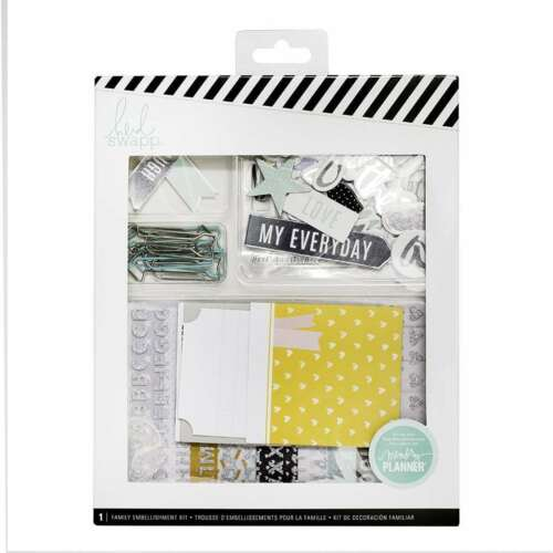 American Crafts 319899 235 Family Planner Scrapbooking kits