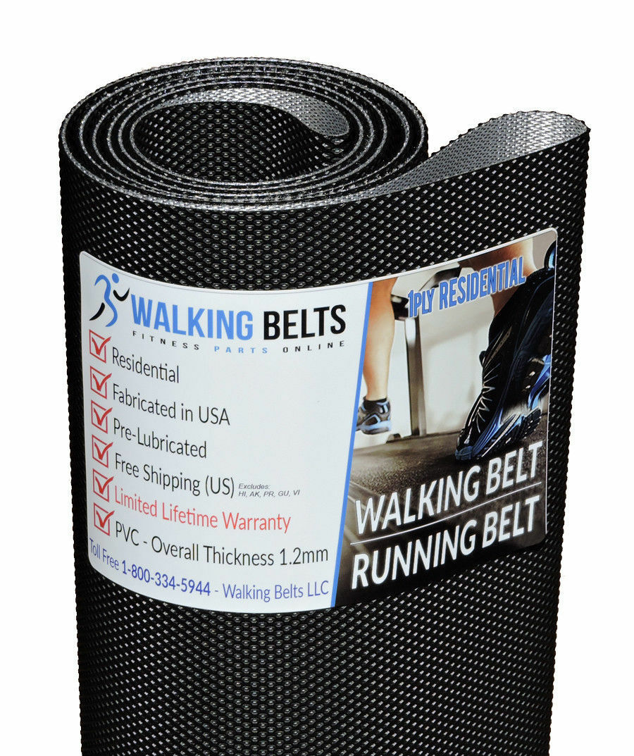 Precor C932 Serial  Treadmill Walking Belt 1ply 1ply 1ply + Free 1oz Lube 078112