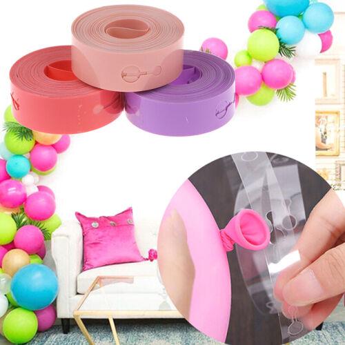 5m Ballonkette, Verbindungsgürtel, Hochzeits- und Geburtstagsdekorationen