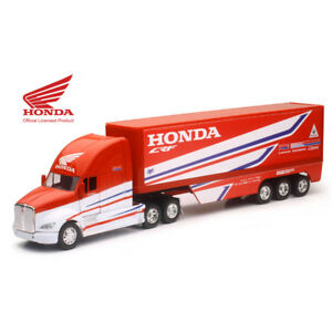 Team Ray Trucks >> Details About Team Honda Hrc Motocross Race Truck Lorry 1 32 New Ray