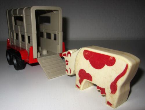 Anhänger für Spielzeugauto Tiertransporteranhänger ca.15cm x 9cm x 6,5cm Spielzeugautos
