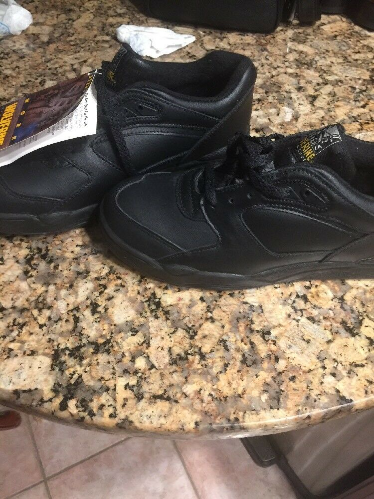 Wolverine Hombre Talla Talla Talla 8.5 Negro Bajo Top Zapato Puntera De Acero a7edbd