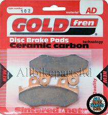 Honda Cr 125 Delanteros sinterizado Pastillas De Freno 1984-1985 - Goldfren-Cr125 Cr-125
