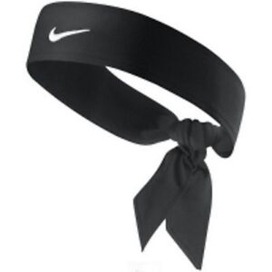 New Womens Nike Head Tie Dri Fit black Headband Tennis Run ... 725213dc00d