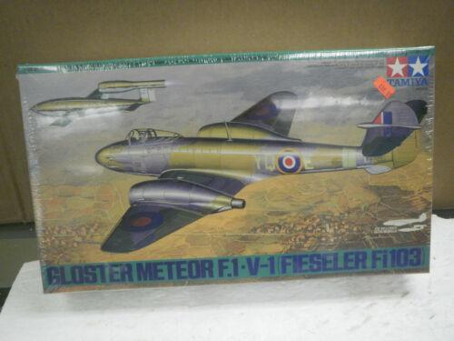 TAMIYA 61065 GLOSTER METEOR F.1 V-1 MODEL KIT NEW W51