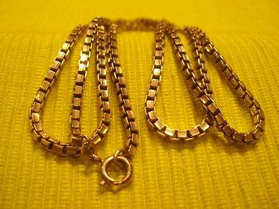 AnpassungsfäHig Silberkette Lang 835er Silber Veneziakette