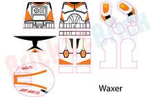 Lego Star Wars Clone 212th Attack Battallion Waxer Custom Water Slide Decal