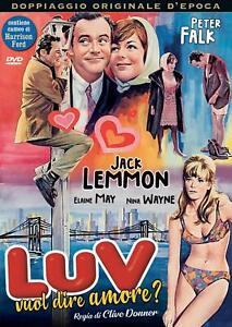 Luv Vuol Dire Amore ? DVD A&R PRODUCTIONS *NUOVO*