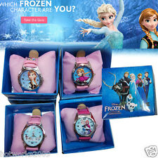 1PS Gift Child Watch Disney Princess Frozen Elsa/Anna Quartz New Wristwatch Xmas