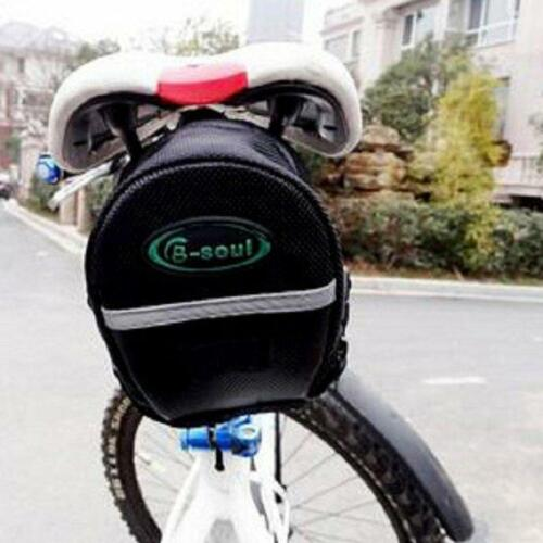 MTB Mountain Bike Bag Pouch Road Bicycle Cycling Seat Saddle Bag Acces LO
