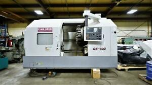 Yama Seiki GS400 CNC Lathe - Perfect condition Canada Preview