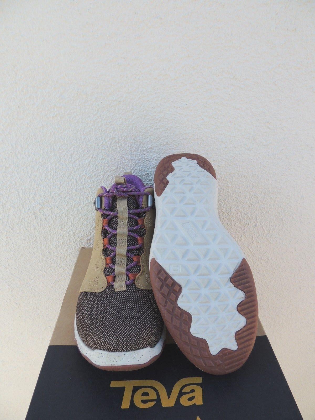TEVA PRAIRIE SAND ARROWOOD MID WP 7/ LEATHER SNEAKER Stiefel, US 7/ WP EUR 38 NEW c2f2d5