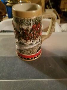 Anheuser-Busch-Budweiser-1988-Collector-039-s-Series-Beer-Stein-Mug-Ceramarte