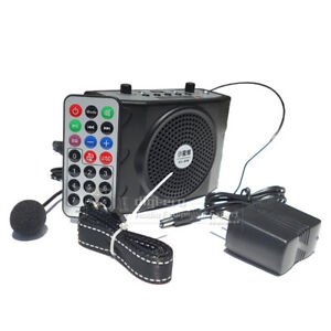 Details about 38W Voice Amplifier Booster Microphone Teacher Speaker Coach  Guide MP3 Megaphone