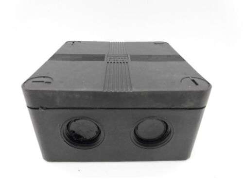 SGD EJBS1-BL IP66 JUNCTION BOX COMPLETE WITH STRIP CONNECTOR 20MM KNOCKOUTS