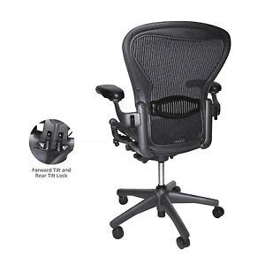 Renewed-Classic-Aeron-Chair-Size-B-Lumbar-Fully-Loaded-w-New-Hardwood-Casters