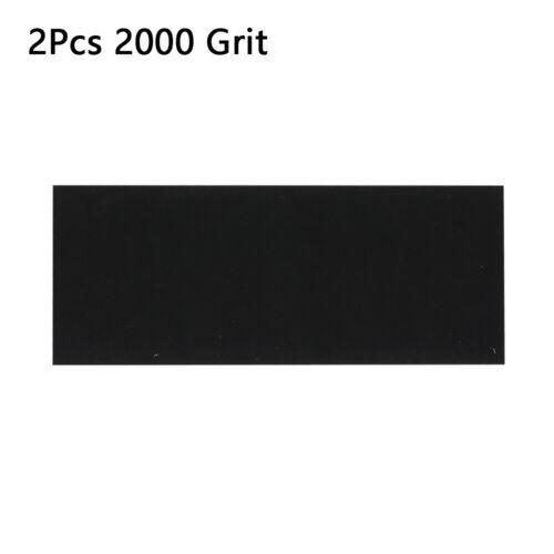 Polished Tools Wet Dry Sandpaper  Abrasive Sanding Paper Sheet  120-2000 Grit