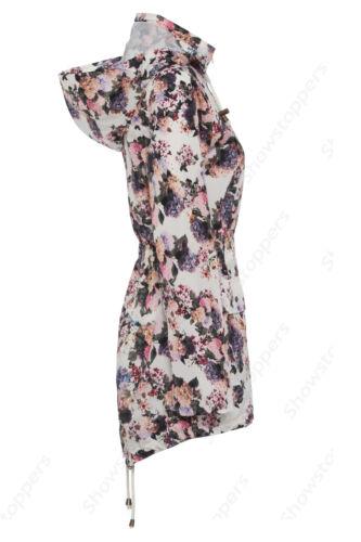 NEW RAIN MAC Ladies PARKA Womens SHOWER Festival RAINCOAT Size 8 10 12 14 16