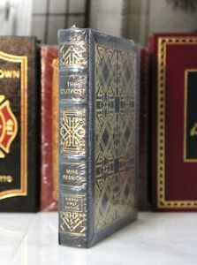 THE OUTPOST - Easton Press - Mike Resnick 🖋SIGNED 1ST ED SCI FI🖋 SEALED w/ BOX