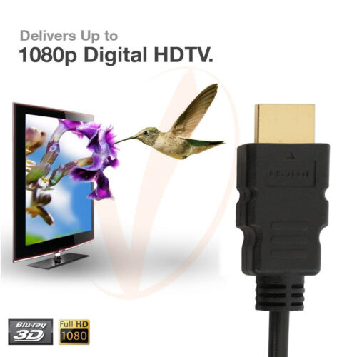 10FT 4K Ultra HD Premium HDMI Cable V1.4 3D High Speed Ethernet Audio Video Gold