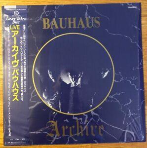 Bauhaus-Archiv-TFLR-78511-Laserdisc-Gothic-Peter-Murphy-David-Ash-David-J-Wow