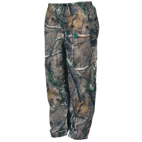 NEW FROGG TOGGS PA83102-54XL Pro Action Camo Pants Realtree Xtra XL