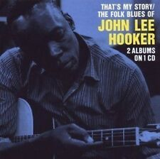 John Lee Hooker That's My Story/The Folk Blues Of 2on1 CD NEW SEALED
