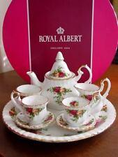Royal Albert OLD COUNTRY ROSES Le Petite Miniature Tea Set Teaset - NEW / BOX!