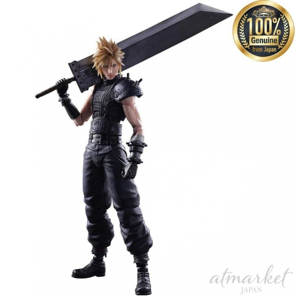 Final Fantasy VII REMAKE Figure 603873 Cloud Strife PLAY ARTS reform from JAPAN